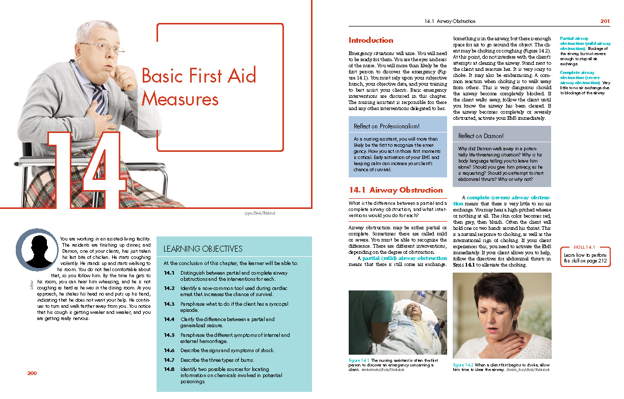 CNA: Nursing Assistant Certification, Sample Pages 1