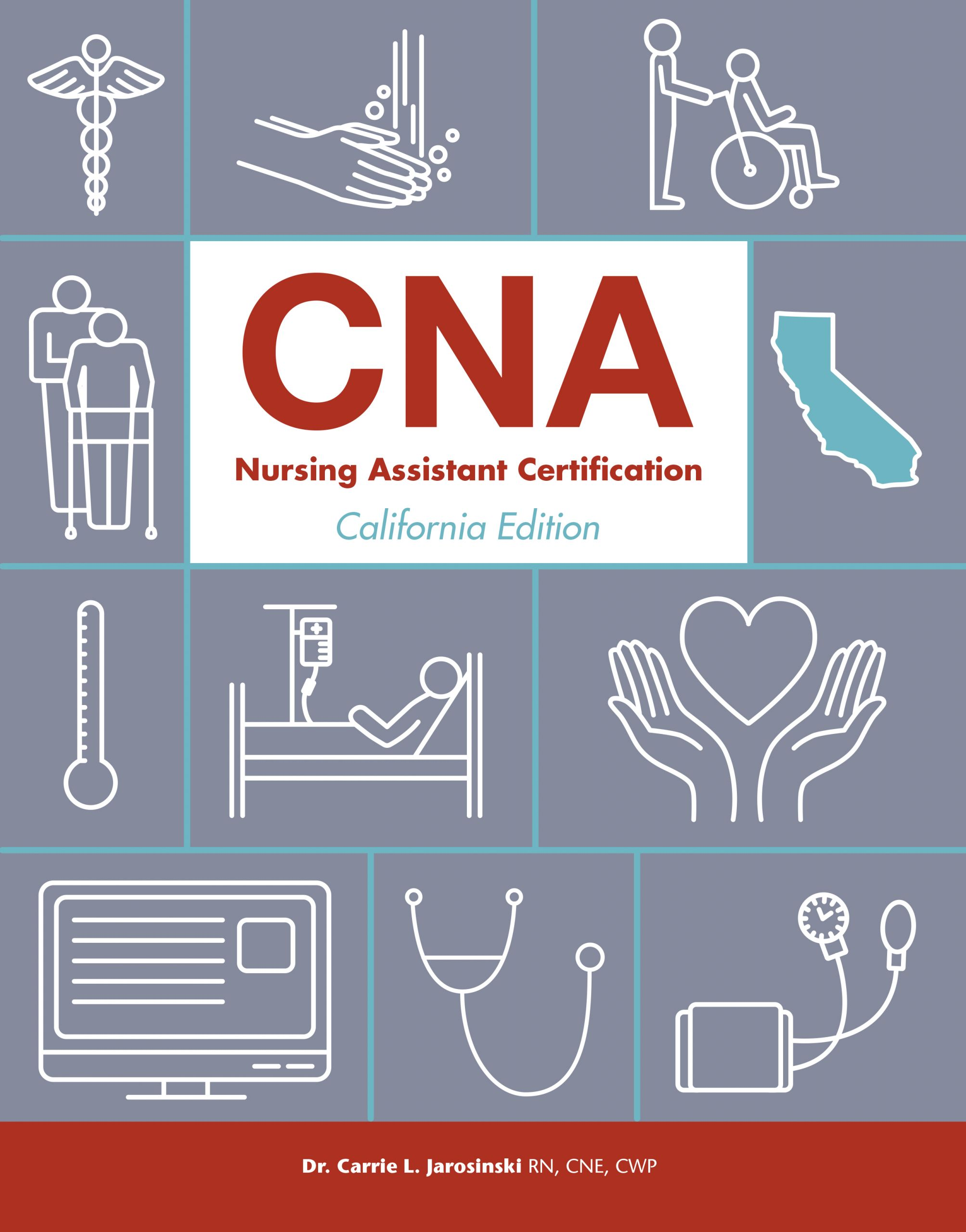 CNA California textbook cover