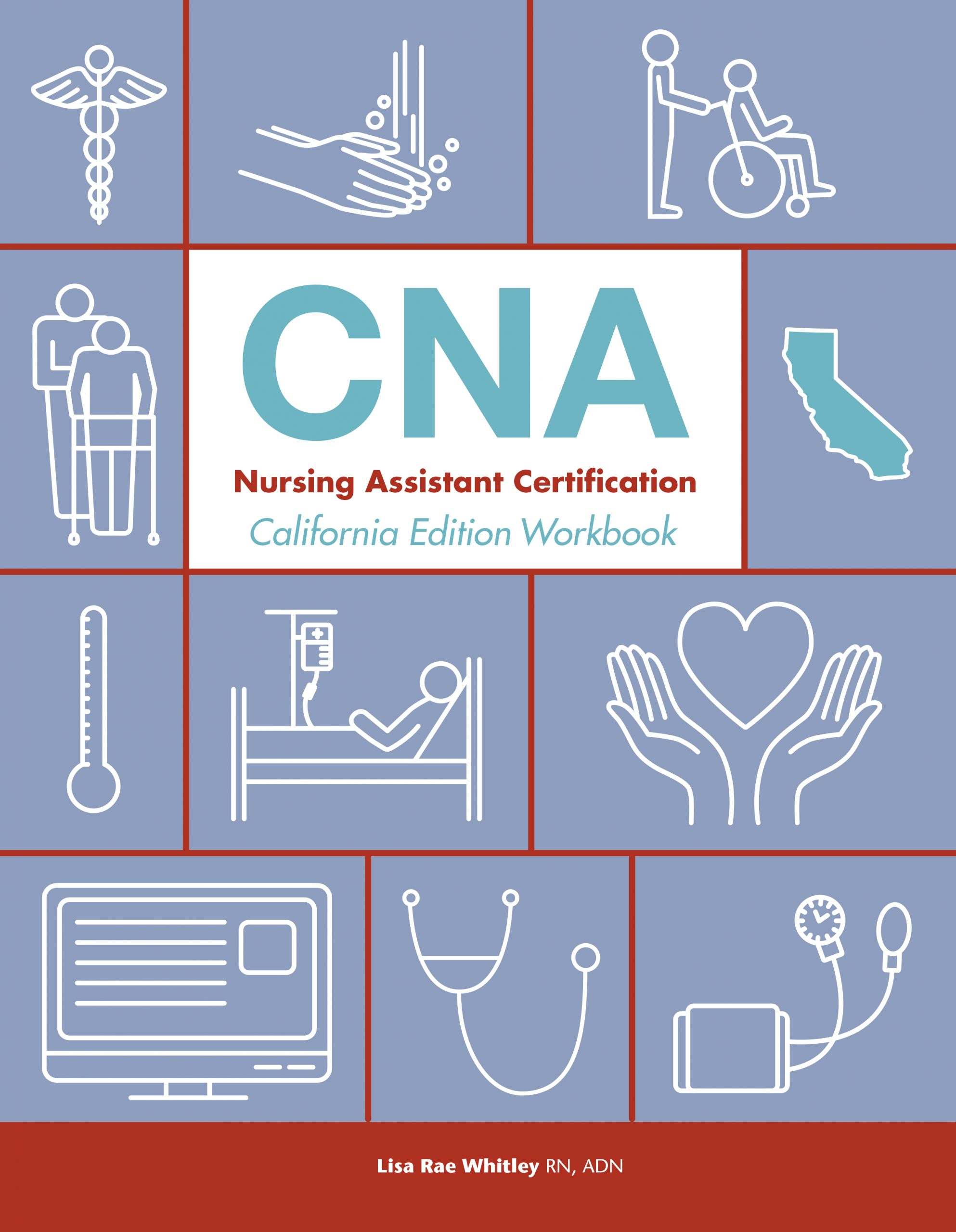 CNA California Workbook cover