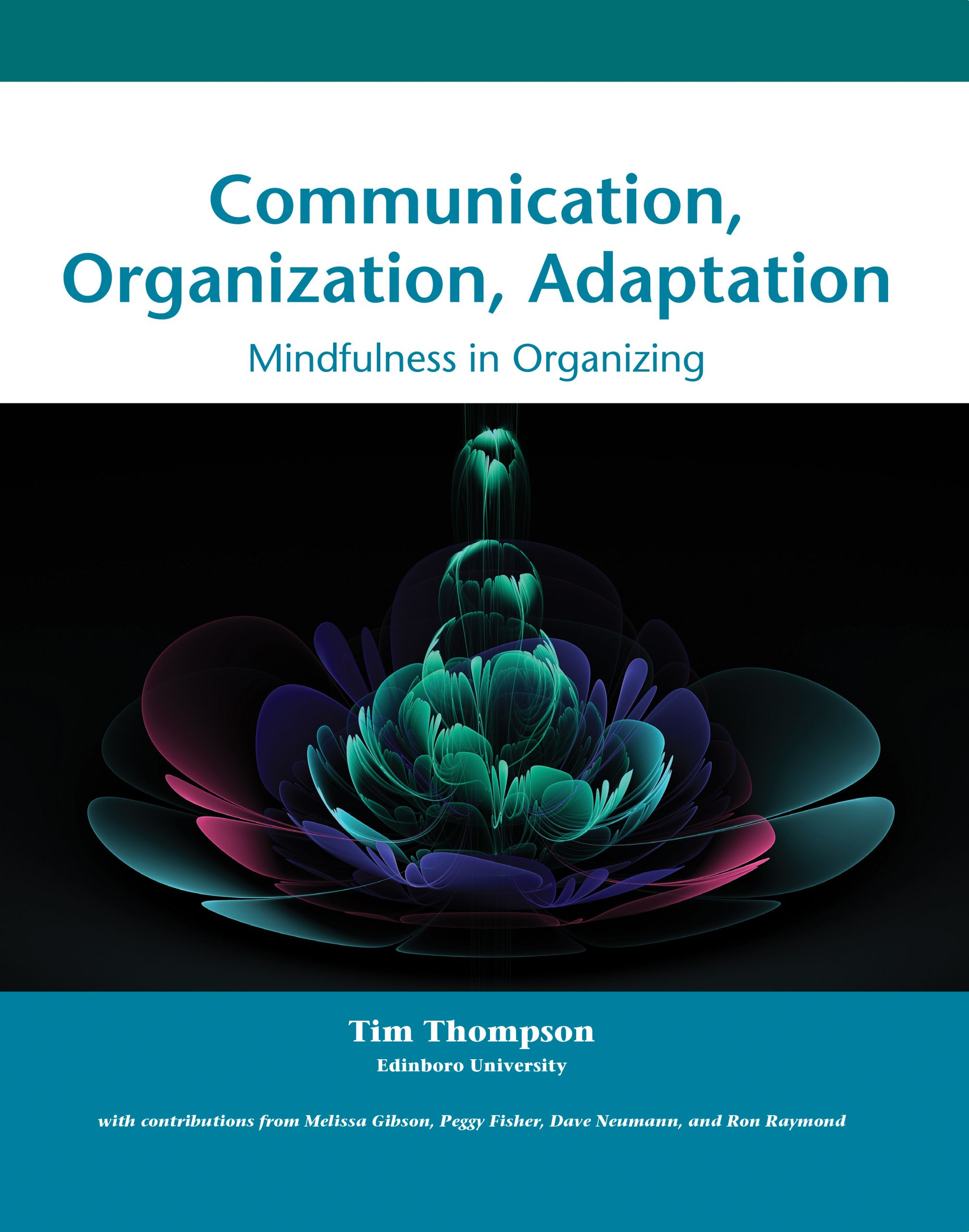 Communication, Organization, Adaptation cover
